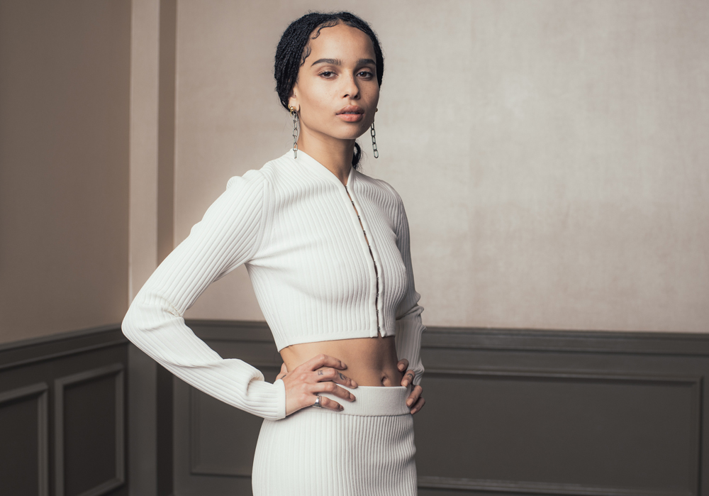Zoe Kravitz by Casey Curry