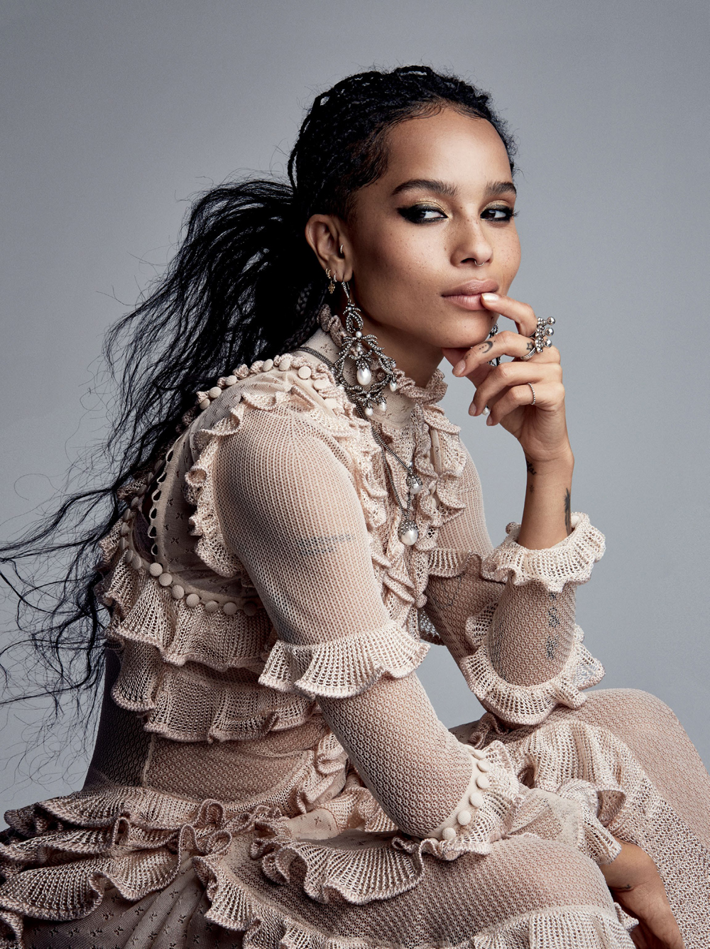 Zoe Kravitz by Patrick_Demarchelier