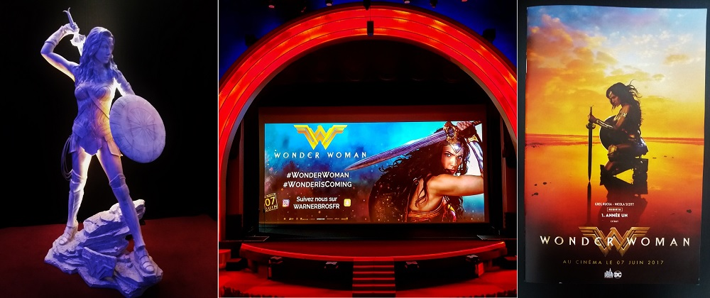 photos de l'avant-première de Woman Woman au Grand Rex de Paris