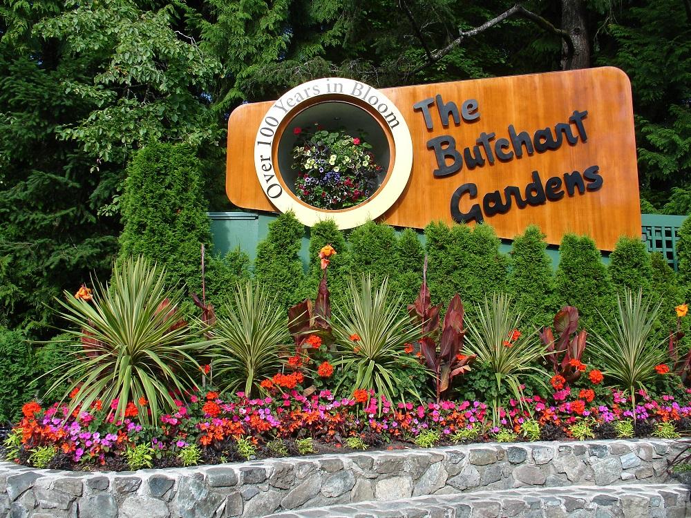 Visite the butchart gardens guide canada shunrize for Jardines butchart