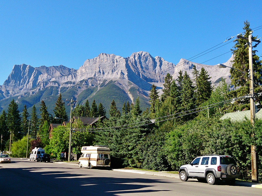 rue de canmore au canada