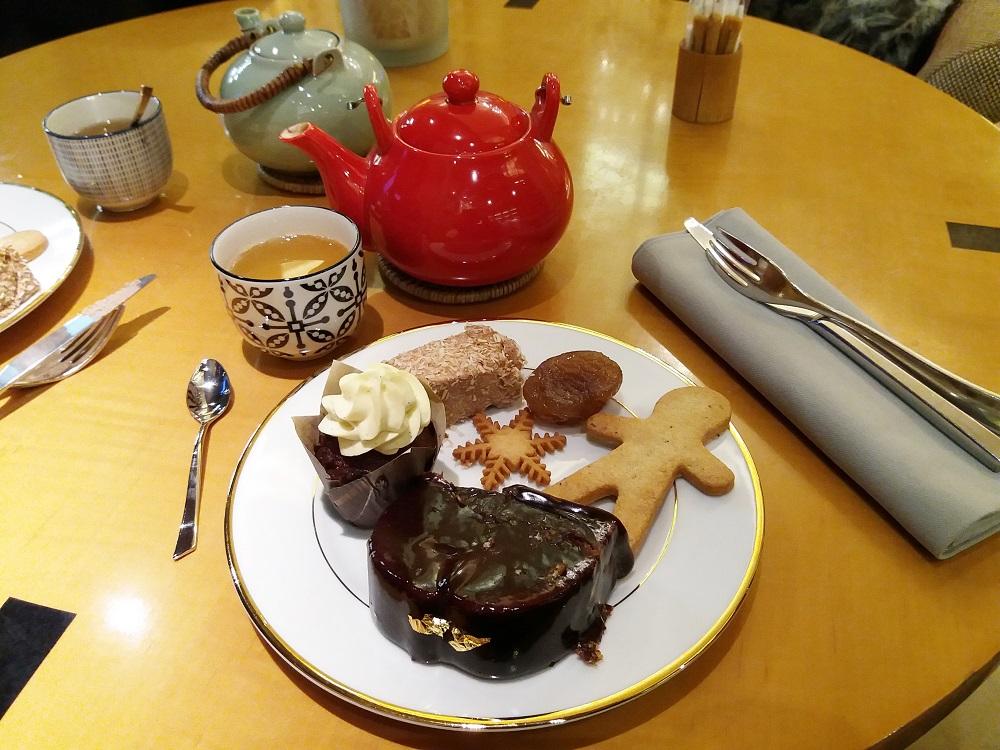 tea time de noel à l'hôtel scribe paris opéra