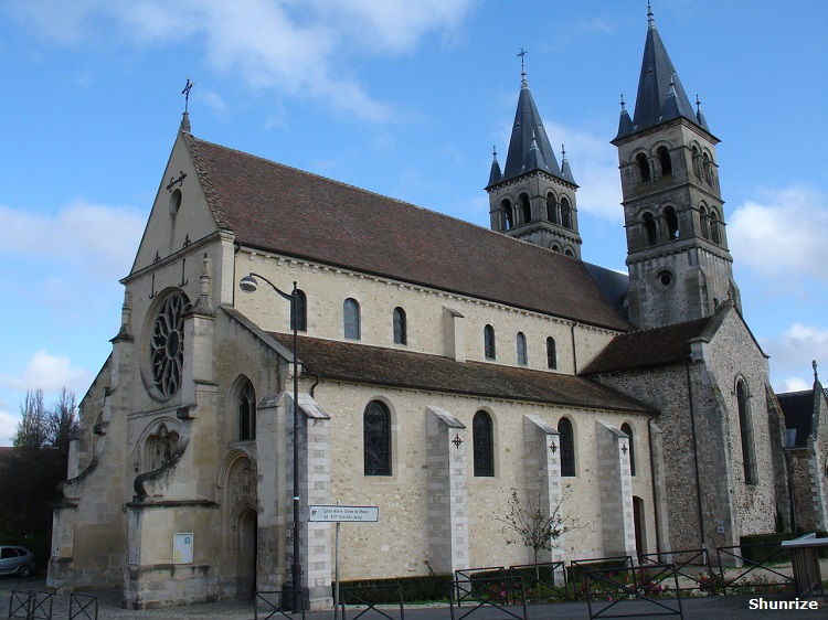 Collégiale Notre-Dame à Melun