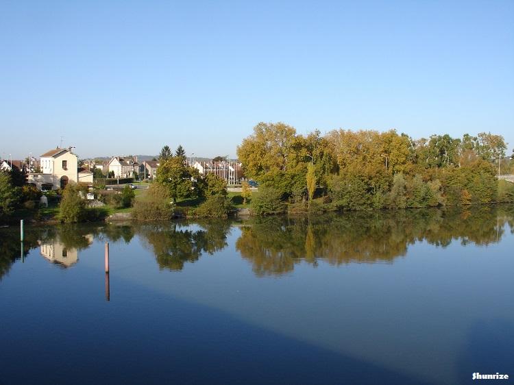 L'Yonne à Montereau-Fault-Yonne