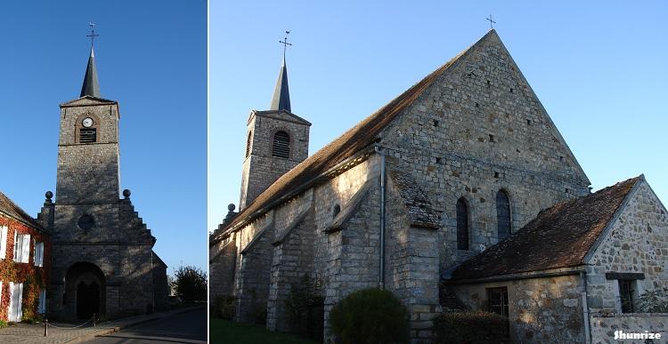 Église Notre Dame à Brosse-Monceaux