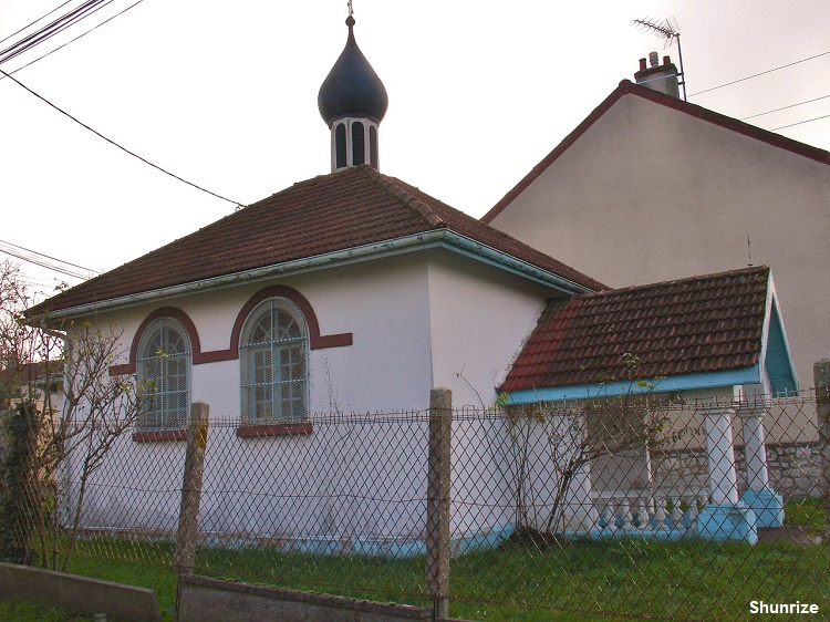 petite église orthodoxe de Champagne-sur-Seine
