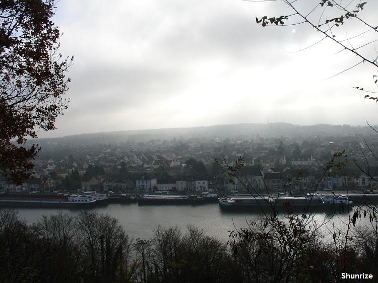 panorama sur Saint-Mammès
