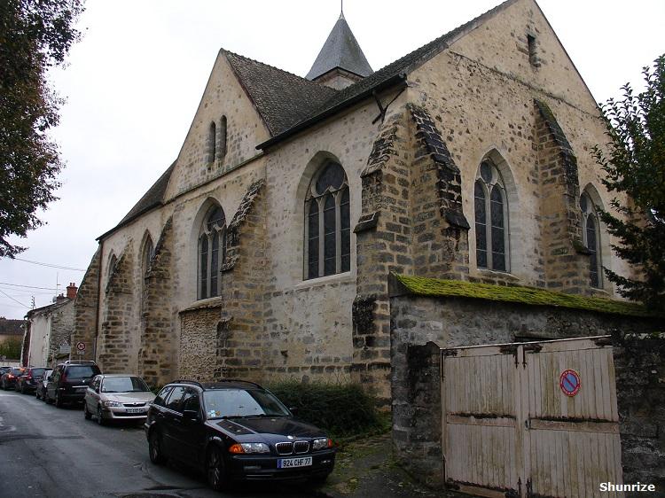 Église Saint Hilaire-Saint Loup à Samois-sur-Seine