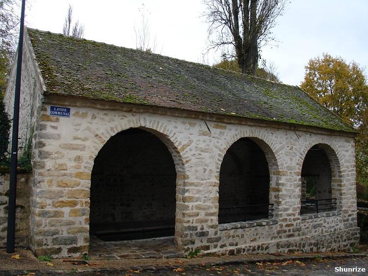 lavoir à Samois-sur-Seine