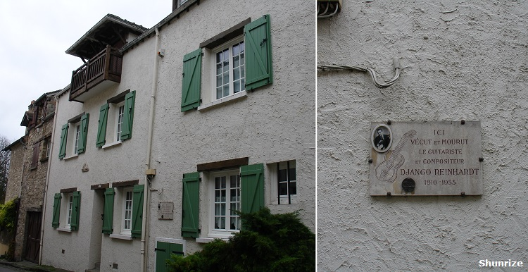 maison Django Reinhardt à Samois-sur-Seine
