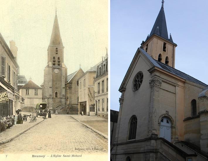 l'Église St-Médard à Brunoy