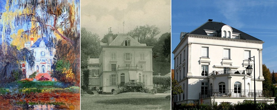 La Maison d'Yerres de Claude Monnet