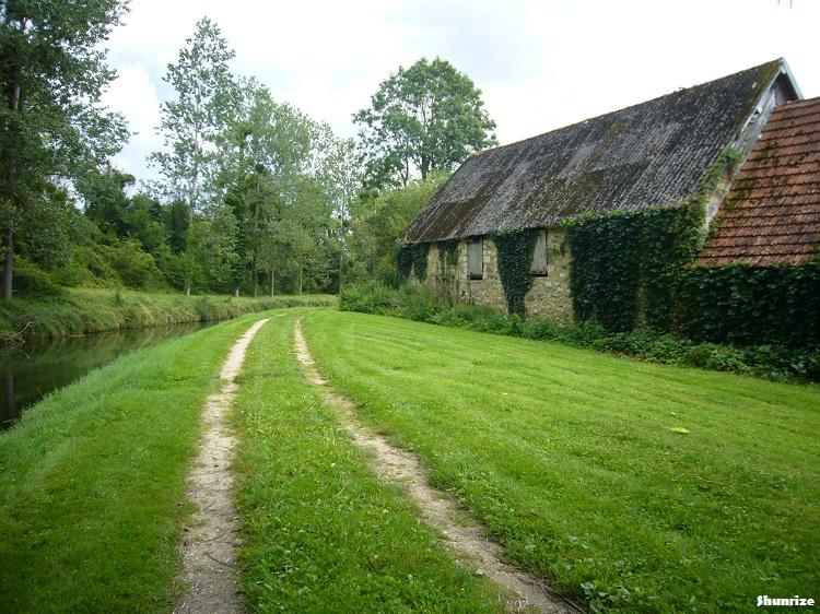 canal à Lizy-sur-Ourcq
