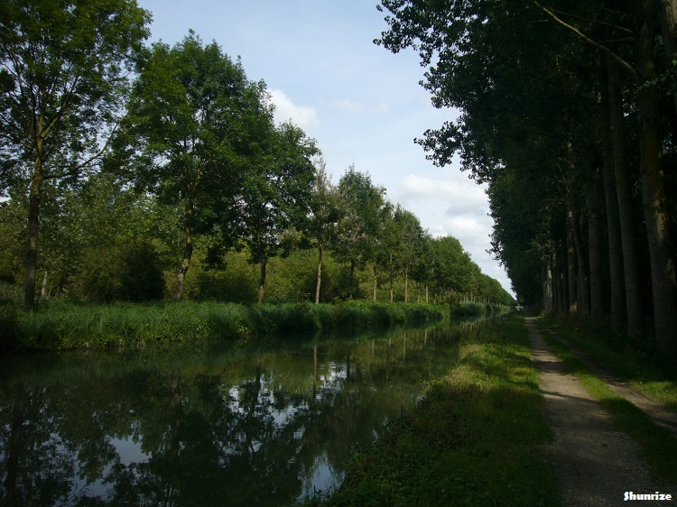 canal de l'ourcq laye souilly