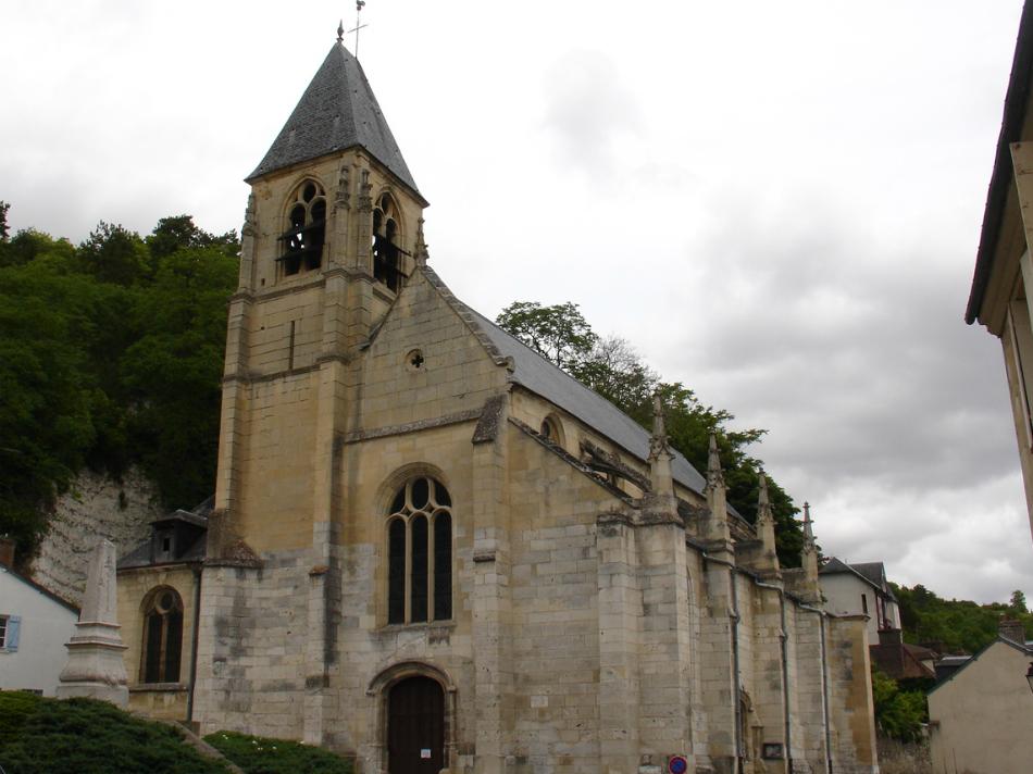 Eglise Saint-Samson La Roche-Guyon