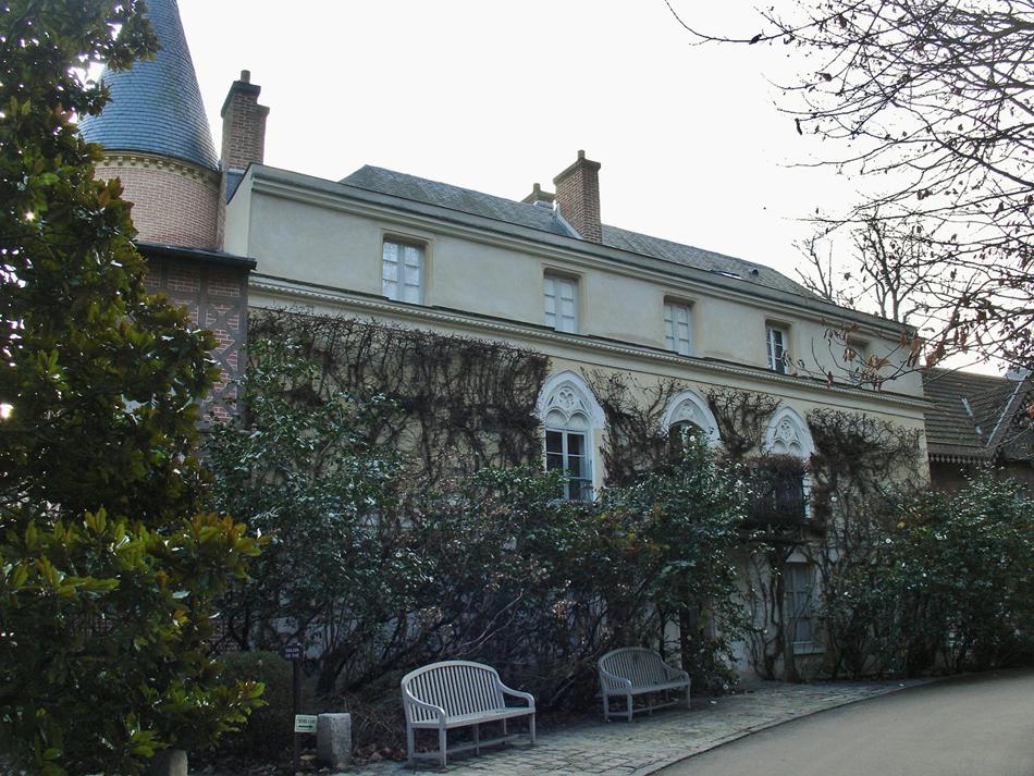 La Vallée-aux-Loups - Arrière de la Maison de Chateaubriand