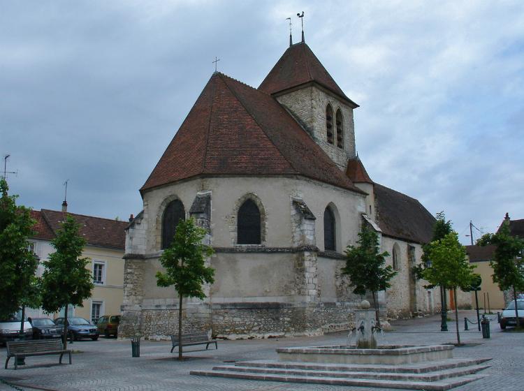 l'Église Saint-Étienne à Mantes-La-Ville