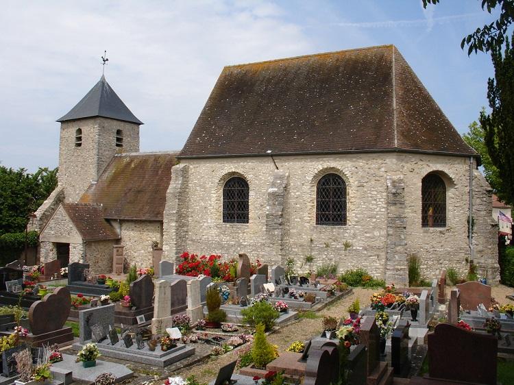 l'Église Sainte-Foi à Jouy-Monvoisin