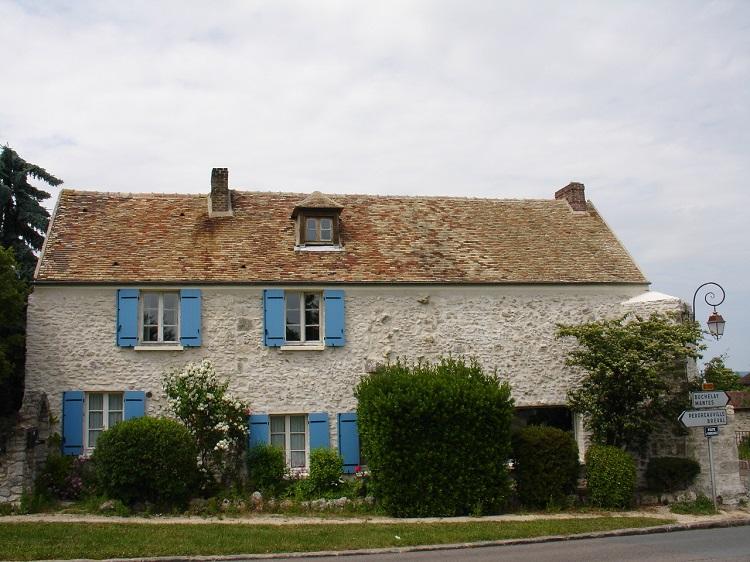 Manoir seigneurial à Jouy-Monvoisin