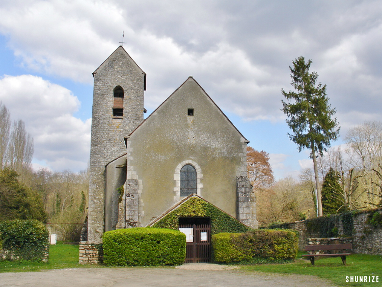 Eglise Saint-Martin à Vayres-sur-Essonne