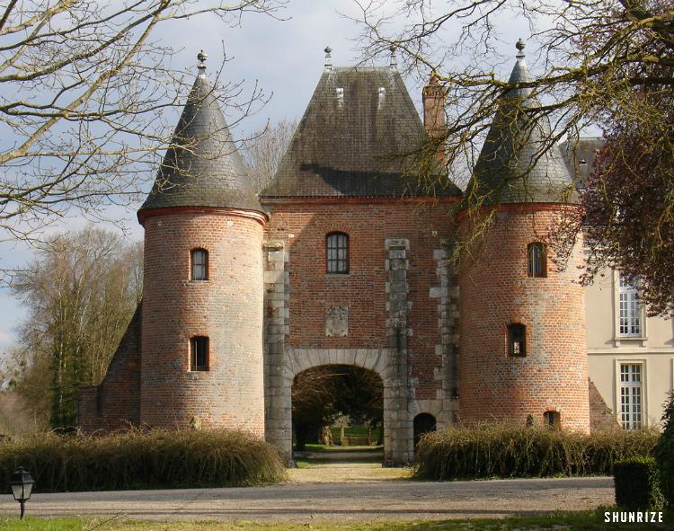 Poterne du Château de Bélesbat
