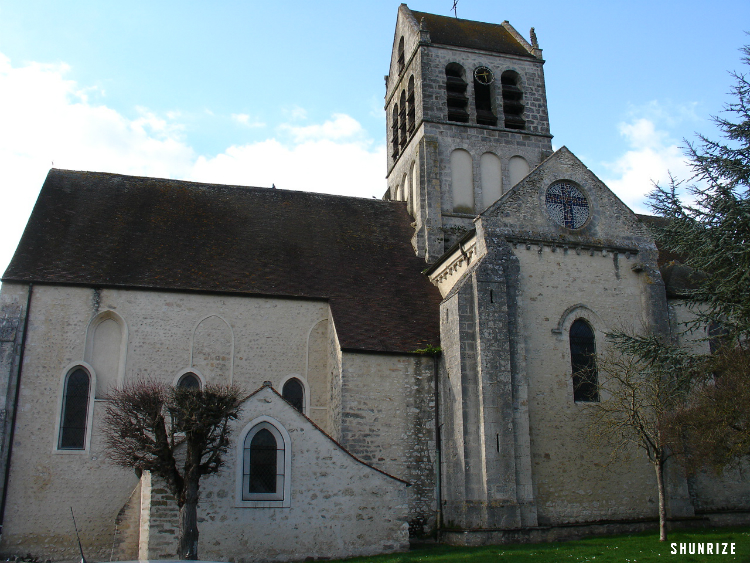 l'Église Saint-Barthélemy de Boutigny-sur-Essonne