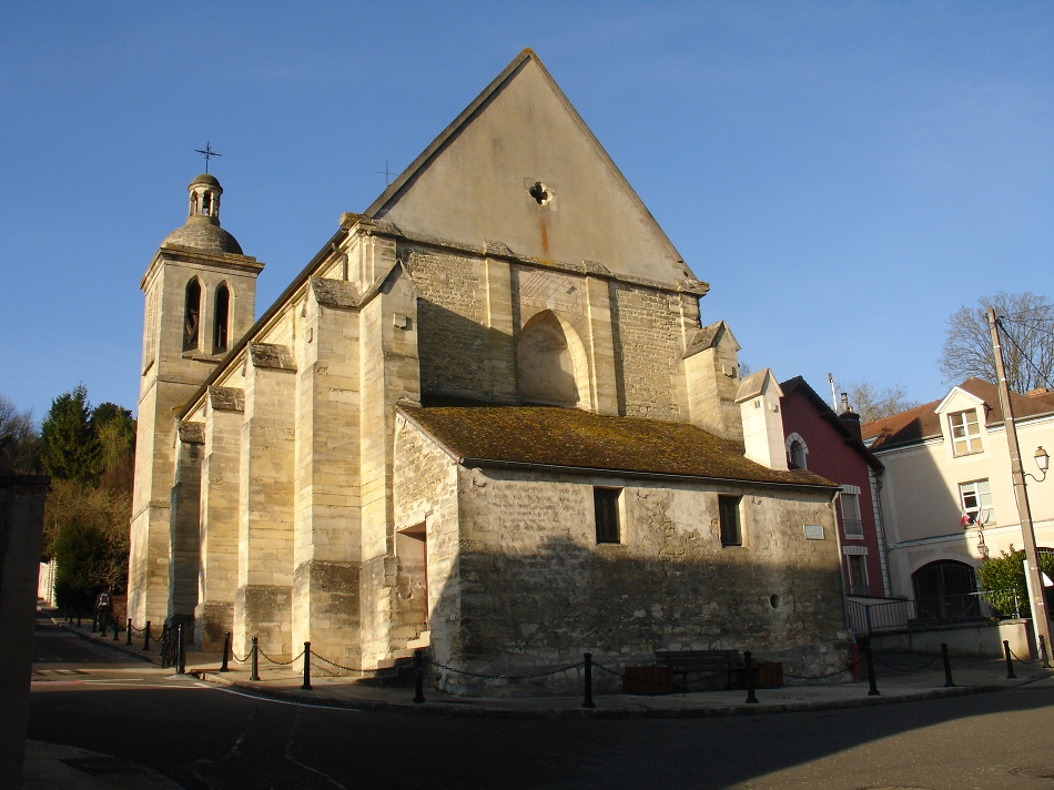 l'Église Saint-Germain à Villennes-sur-Seine