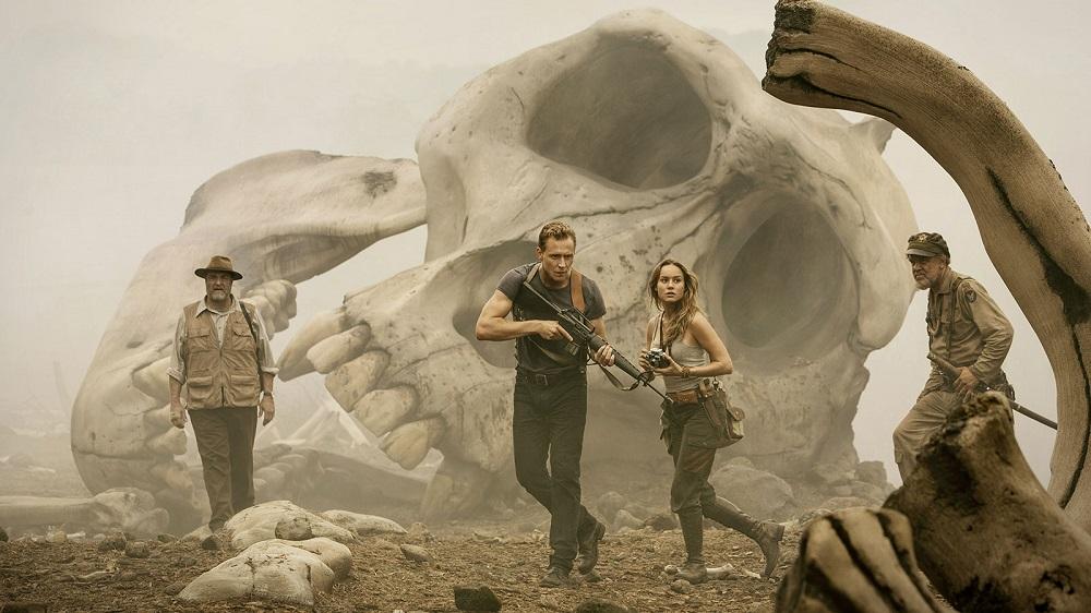 Kong Skull Island Tom Hiddleston et Brie Larson
