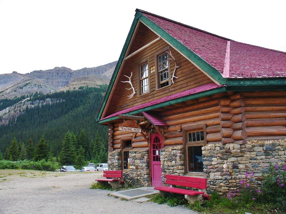 poste de traite au lac Bow