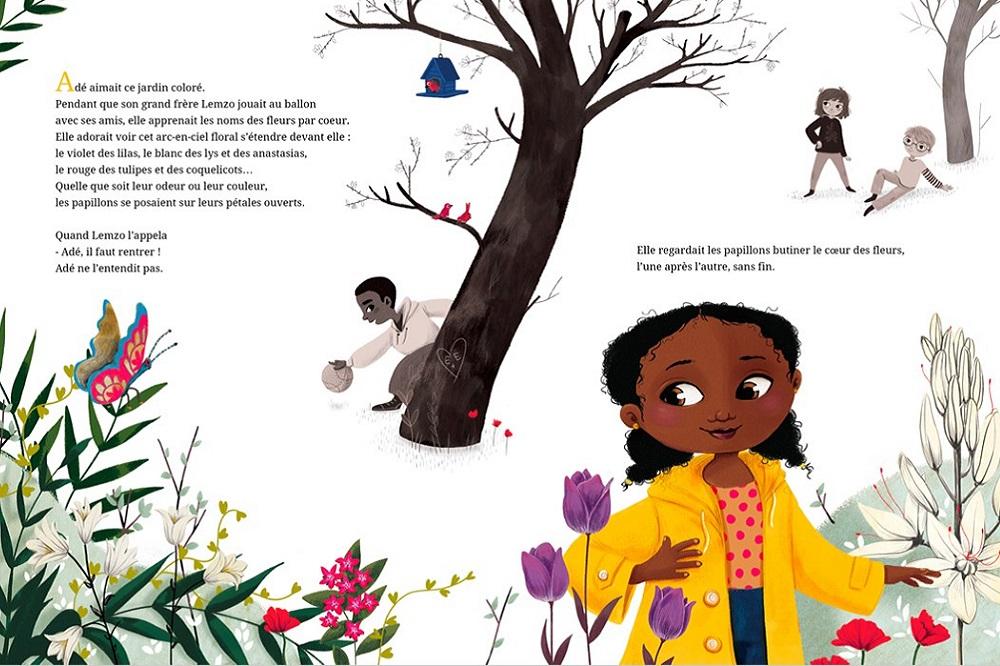 Extrait de «Comme un million de papillons noirs» de Laura Nsafou et Barbara Brun